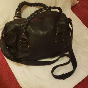Lucky Brand Navy Blue Hobo Bag